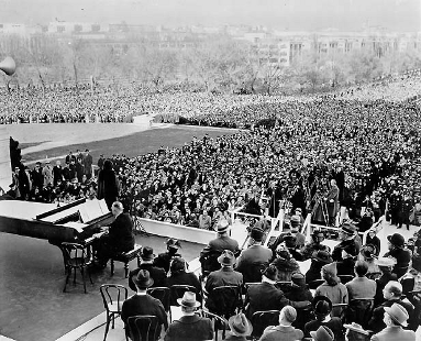 The Marion Anderson 1939 Easter concert